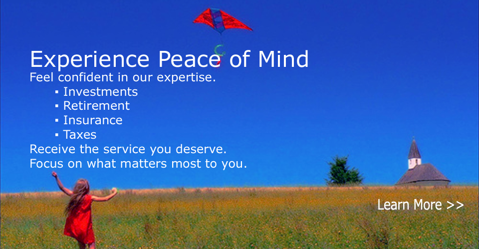 Experience Peace of Mind