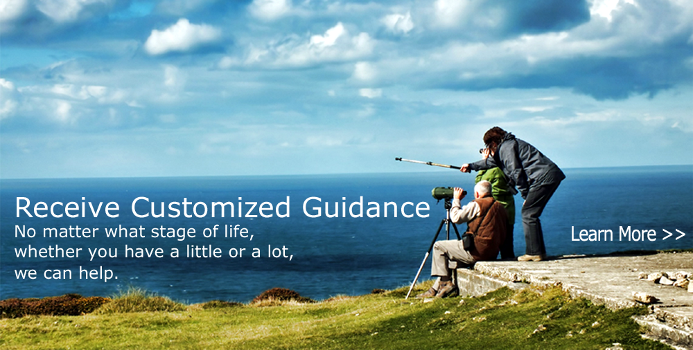Receive Customized Guidance